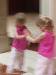 mossa in rosa
