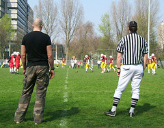 coach and referee