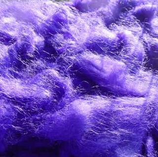 Violet Shetland/Mohair Roving