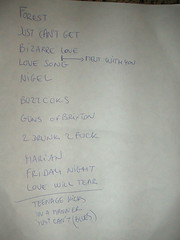 Nouvelle Vague setlist