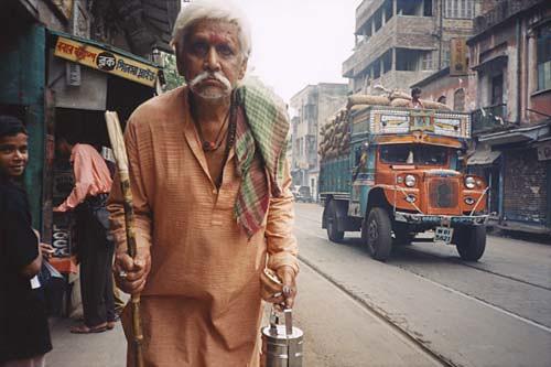 Man on Street © Puja