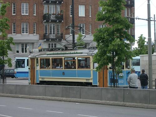 イエテボリの路面電車 photo by OptioS