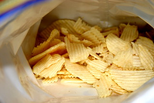 chips and bag   by wader