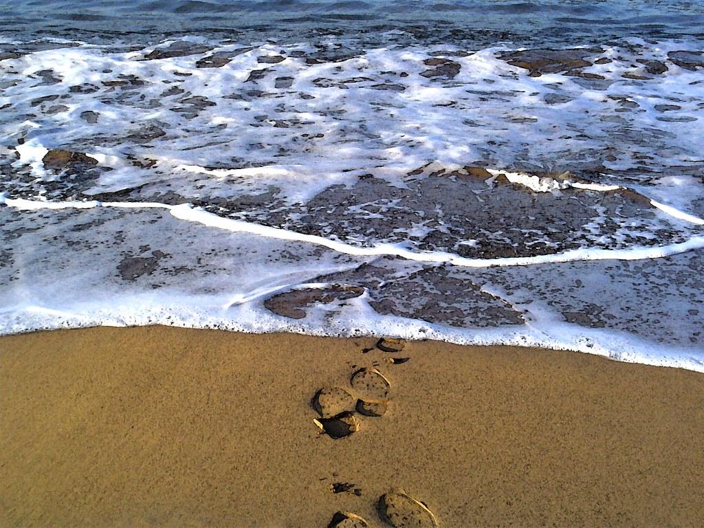 La ola que borra nuestro paso - Foto: Tenebris