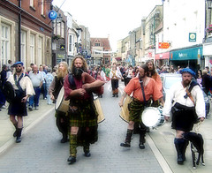 Image: The Folk Festival marches on Ely