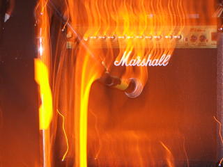 Burning Marshall | by dustpuppy