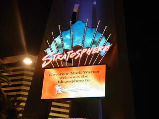 Blogosphere at the Stratosphere