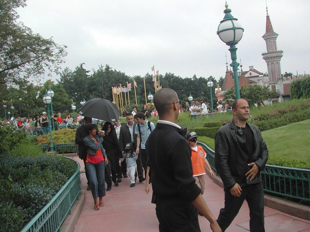 Michael Jackson en Disneyland Paris 2/Michael Jackson in Disneyland Paris 2