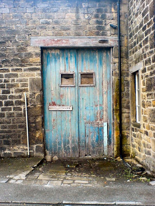 A door in Otley