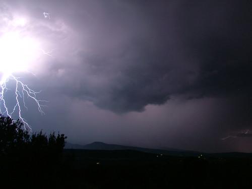 sky storm mountains newmexico rain weather electric night purple bright albuquerque paula bolts thunderstorm lightning sandia volts darksky sandiapark worldweather paulena sanpedrooverlook regionwide