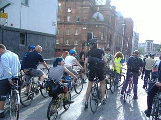 Critical Mass, Glasgow