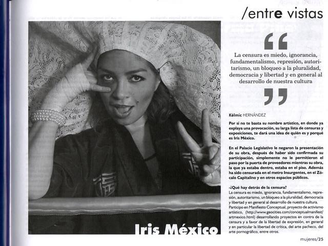 Iris México. entre vistas