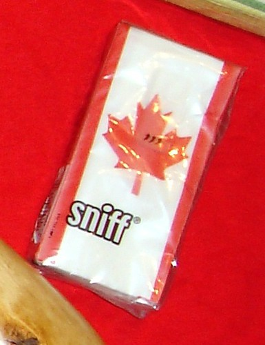 Sniff Brand Canadian Flag Designer Tissues! | These are too … | Flickr