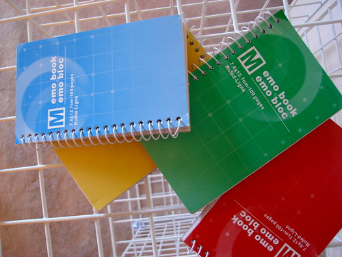 Memo books   by stebulus