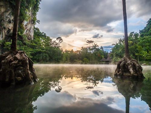 hotspring 2015 banjaran malaysia lake sunset hot heaven