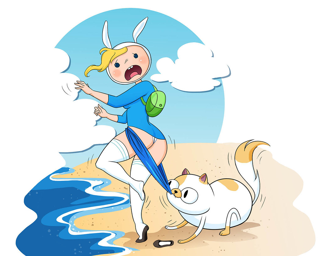 Adventure Time Finn And Fionna fionna coppertone. adventure time | completion a parody of a