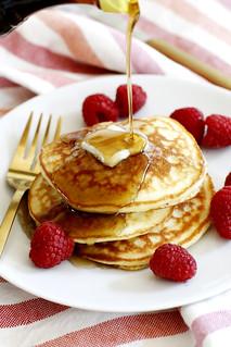 Fluffy Coconut Flour Pancakes | girlversusdough.com @girlversusdough #glutenfree #breakfast #recipe | by girlversusdough