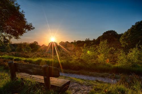sunset netherlands nl limburg hbm staatsbosbeheer herkenbosch npmeinweg