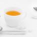 Tea on white