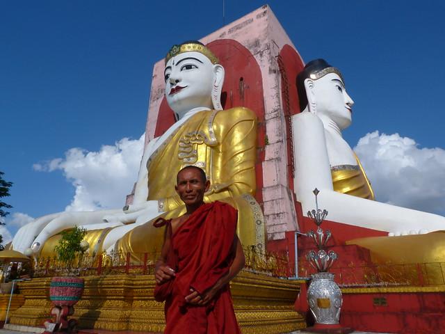 Los cuatro budas de Bago (Myanmar)