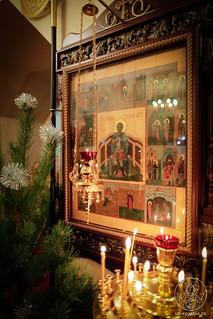 Литургия в храме Дмитрия Солунского 100