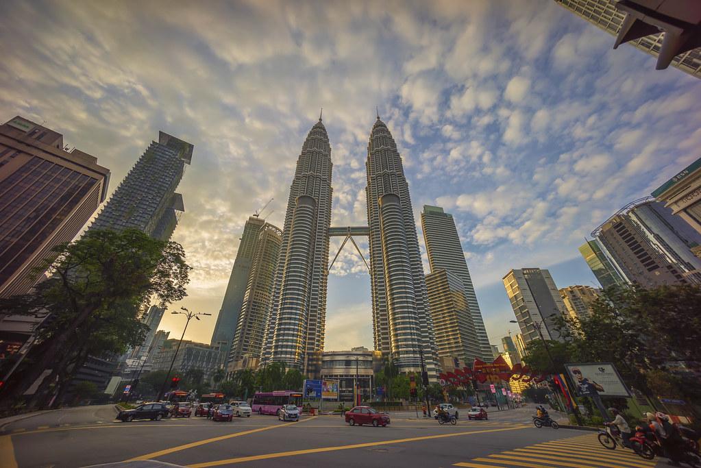 Kuala Lumpur Malaysia March 04 2017 Road Junction At
