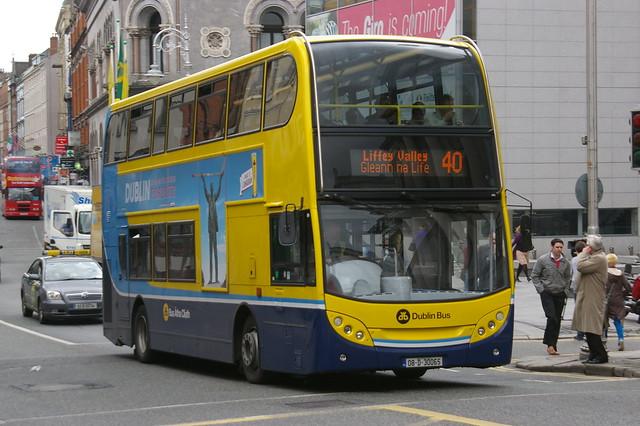 DUBLIN BUS EV65 08-D-30065