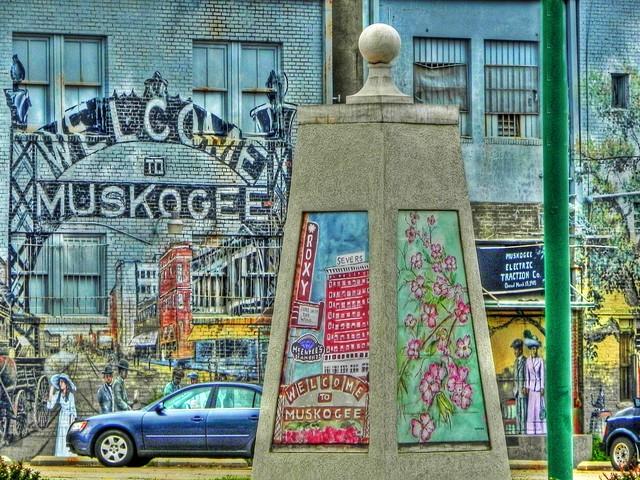 Muskogee Street Art
