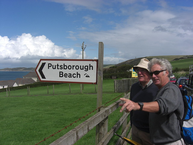 North Devon Tourists Putsborough Beach
