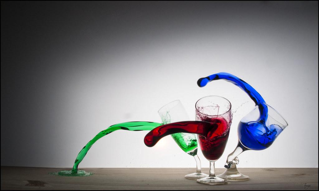 3 verres