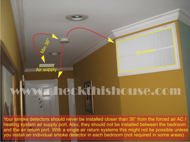Smoke Detector Placement In Air Supply Vent Area Your Smok Flickr