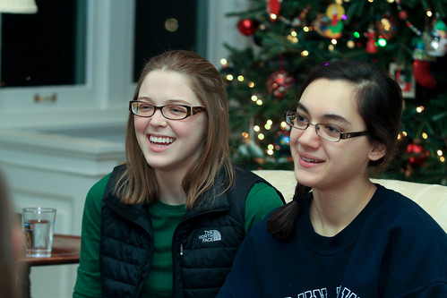 Smiling Students: President Hosts Study Break at Bryn Mawr