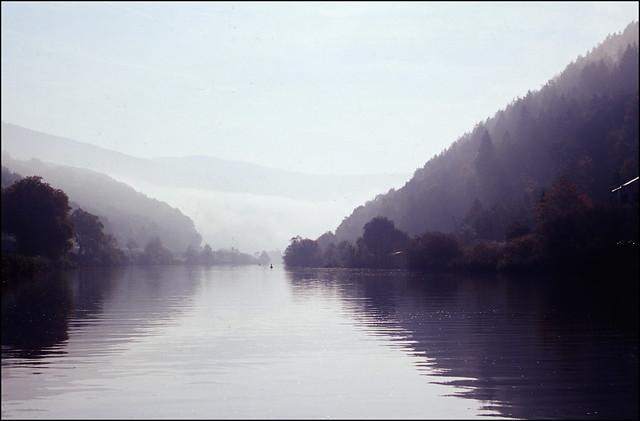Herbstmorgen im Odenwald
