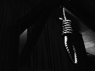 Noose from The Sex and Death Gallery | by Fraser Mummery