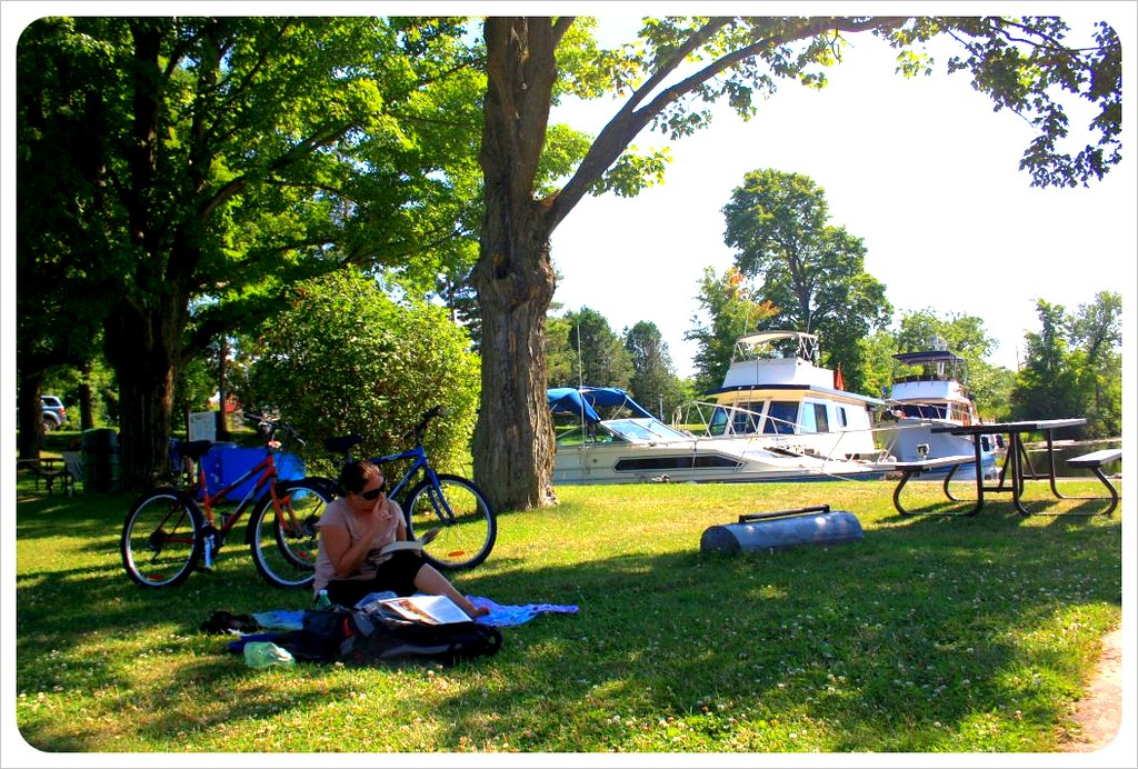 picnic at the rideau canal