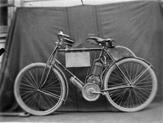 Steampunk bike | by State Library Victoria Collections
