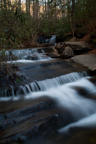 longexposure trees cold sc waterfall rocks whitewater southcarolina slide pickenscounty tablerockstatepark carrickcreek davidhopkinsphotography