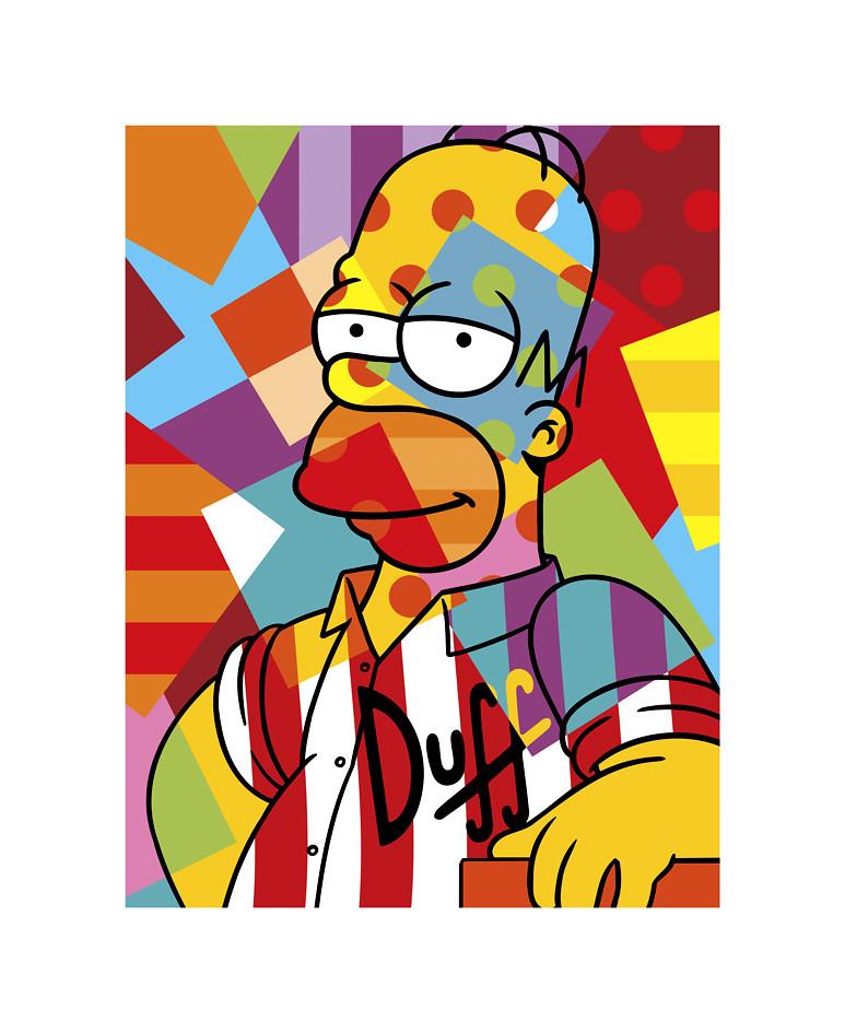 Homer Simpson Www Lobopopart Com Br Lobo Pop Art Flickr