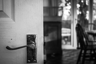 Behind the door. | by Nathan O'Nions