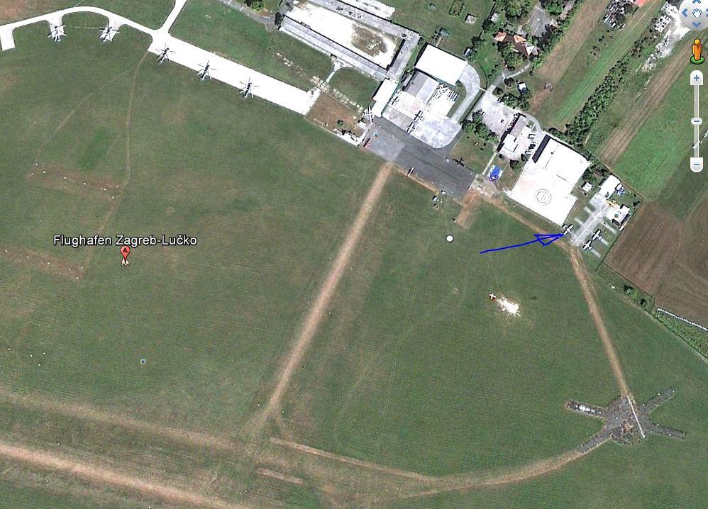 Cessna C337 D-ICEC - current location in Solvenia.