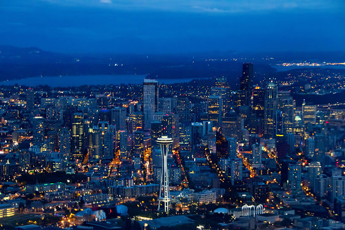 Seattle By Plane | by Dave Morrow Photography