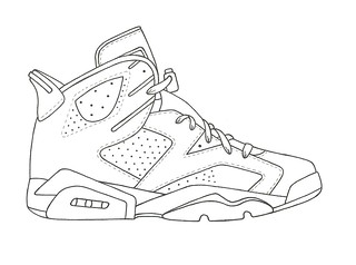 How To Draw Jordans