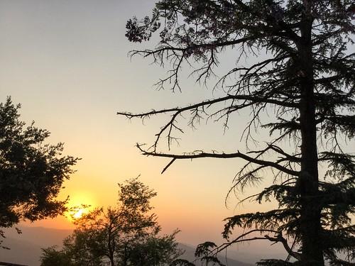 sunset india himalaya almora ipad uttarakhand ipadair2