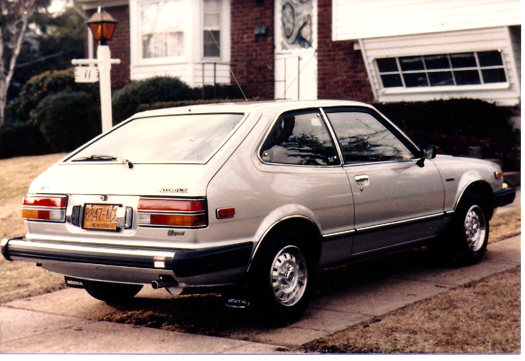 1981 Honda Accord LX Hatchback   Hard to believe that this w…   Flickr