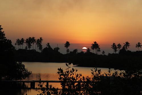 sunrise atardecer laguna veracruz isla crepúsculo tajín tuxpan tuxpam tampamachaco