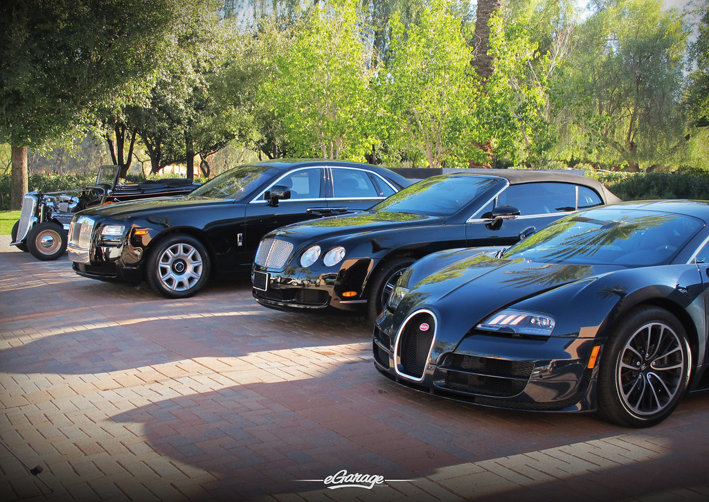 Cool Car Collection Hot Rod Rolls Royce Bentley And Buga Flickr