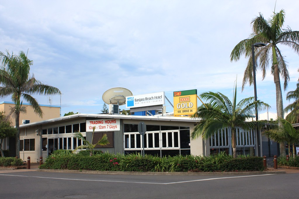 Bargara Beach Hotel, Bargara, Qld.