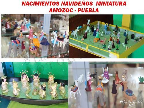 NACIMIENTOS MINIATURA Navideños -  Amozoc - Puebla - México