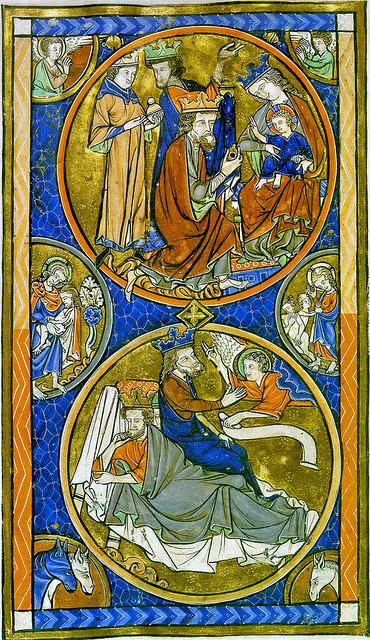 Adoration & dream of the three Magi