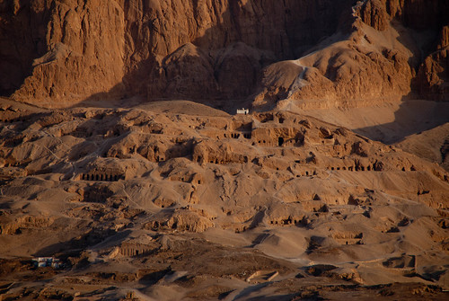 Tombs in region of Valley of the Kings | by Dennis Wright